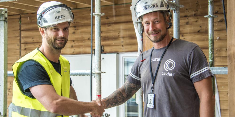 Svanenmärkt projekt i Stockholm. Emanuelsson utför VVS.